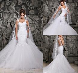 Beautiful Lace Back Mermaid Wedding Dresses Suppliers   Best ...