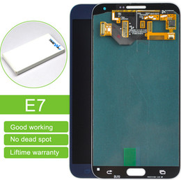 $enCountryForm.capitalKeyWord Canada - Brand New A grade Replace LCD front LCDs Repair For Samsung Galaxy E7 LCD free shipping