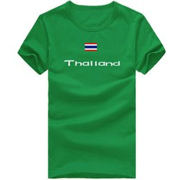 $enCountryForm.capitalKeyWord Australia - Thailand T shirt Outdoor sport short sleeve Party happy tee Country flag clothing Unisex cotton Tshirt