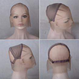 Ingrosso La protezione completa delle parrucche del pizzo dei capelli umani del grado superiore per la fabbricazione delle parrucche con i fili di Ajustable libera il trasporto