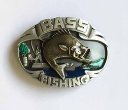 $enCountryForm.capitalKeyWord NZ - Bass Fishing Belt Buckle SW-BY609 suitable for 4cm wideth snap on belt with continous stock