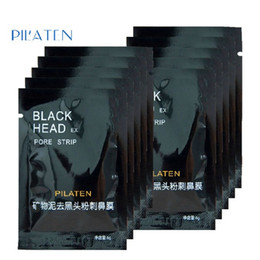 Nose Cleanser Australia - PILATEN Facial Minerals Conk Nose Blackhead Remover Mask Pore Cleanser Nose Black Head EX Pore Strip Free Shipping