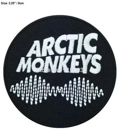3d8fa2645fc Arctic Monkeys England Jacket Shirts patch Heavy Metal Music Rock band Punk  Rockabilly woven sew on iron on badge