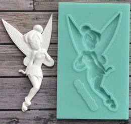 $enCountryForm.capitalKeyWord NZ - 1 piece fairy silicone mold fondant mold cake decorating tools chocolate gumpaste mold