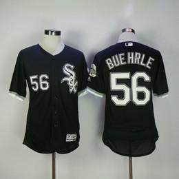 2017 mlb mens chicago white sox baseball 56 mark buehrle majestic black white flex base jersey