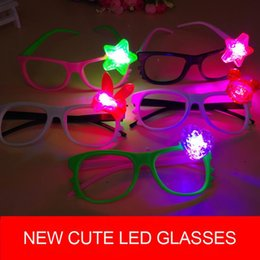 Rave light up toys online shopping - KT Cat kid toy LED Light Up glasses stall selling luminous flash toys creative new peculiar Night Plaza Rave Costume Party ZJ0416