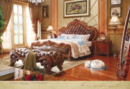 new design wooden bedroom furniture set