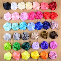 $enCountryForm.capitalKeyWord NZ - free shipping 30pcs lot 39Colors new fashion ribbon satin rosettes Clothing Accessories Classic Rose Bud Headdress Flower Corsage DIY H0231