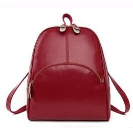 Discount Vintage College Style Leather Backpack | 2018 Vintage ...