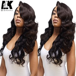 yaki body wave full lace 2019 - Human Hair Lace Front Wigs Black Women 8A Body Wave Glueless Full Lace Wigs Baby Hair Brazilian Virgin Human Hair Full L