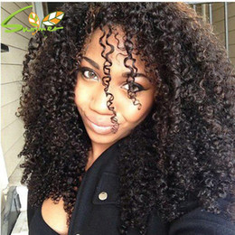 cheap afro full lace wigs NZ - New Hairstyle For Black Women Curly Afro Lace Front Wig Affordable Brazilain Deep Kinky Curly Full Lace Wigs Hot Sale Cheap Wigs