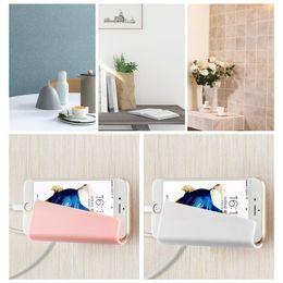 Luxry Wall-Mounted waschbar wiederverwendbare Ladehalterung Handy Tablet Ladehalter für iPhone Samsung Xiaomi Redmi