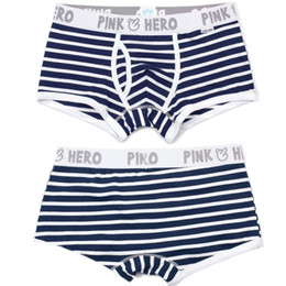 $enCountryForm.capitalKeyWord Canada - Men's stripe underwear, pink underwear shorts cotton brand designer, cuecas boxing, gold belt, people, good quality underwear Free shipping