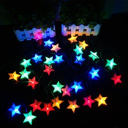 Discount 12v christmas rope lights 2018 led rope christmas lights 45m 10 led solar powered string fairy star light for christmas party decoration light rope 65a 12v christmas rope lights on sale aloadofball Images