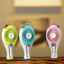$enCountryForm.capitalKeyWord Canada - Portable Mini Fan with Humidifier Rechargeable USB Water Mist Fans Mini Air Conditioner Quiet Air Cooler Home Electric Fans