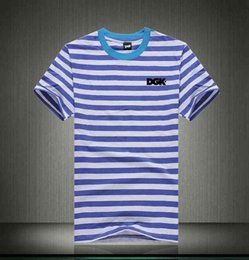 dgk shirts NZ - U1171# S-5XL free shipping fashion DGK Casual T shirt o-neck Breathable cotton men Quick Dry short Panelled