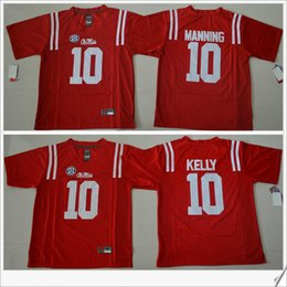 the latest ac2a1 1c77a ole miss rebels 18 achie manning red jersey