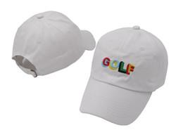 c45ab1d158125 Sombrero de golf Tyler The Creator Gorras blancas y negras para papá  Camiseta con cruz de Wang Gorras snapback Earl Odd Future