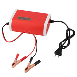 Chinese  Wholesale- New 12 V 6A Digital LCD Car Battery Charger Lead-Acid Motorcycle Power supply charger manufacturers