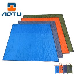 $enCountryForm.capitalKeyWord UK - AOTU Outdoor Water Resistant Camping Mat Foldable Moisture-proof Pad Large Mat Tent Bed Camp Mattress Blanket 210D Oxford 159