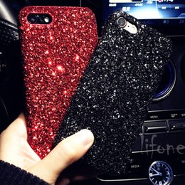 flash case for iphone Canada - Luxury phone case for iphone X Bling Glitter Shining Flash Powder Capa For iPhone 6 6S 7 8 Plus PC Hard Phone Case