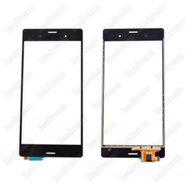 sony z3 digitizer NZ - Replacement Outer Touch Screen Glass Panel Digitizer For Sony Z3 L55t D6603 D6653 Free Shipping