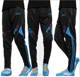 Discount new athletic jersey New arrive Athletic sportwear Skinny Football Pants Training Men Thin Quick Dry Soccer Pant Brand Sports Running Trouser