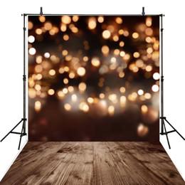 $enCountryForm.capitalKeyWord Canada - Golden Shimmer Lights Bokeh Backdrop Photography Glitter Night Photographic Background Wood Texture Floor Newborn Baby Photo Shooting Props