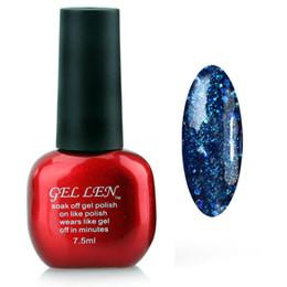$enCountryForm.capitalKeyWord UK - Wholesale-Gel Len Brand New Glitter Colors UV Gel Soak off LED UV Gel Polish High Quality Gel Nail Art