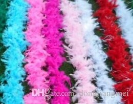 Boa Feather Wraps NZ - 2017 Glam Flapper Dance Fancy Dress Costume Accessory Feather Boa Scarf Wrap Burlesque Can Saloon #Z903