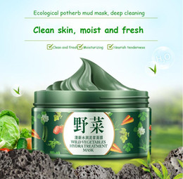 Wholesale New Arrival BIOAQUA Vegetables Moisturizing Mud Face Mask Cleansing Blackhead Mask Pores Shiinking Moisturizing Facial Mask