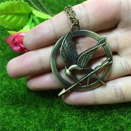 Mockingjay pendant necklace canada best selling mockingjay pendant 3 colors hunger game mockingjay pendant necklace hunger game sign movie jewelry bird necklace movie necklace fashion film jewelry 160408 mozeypictures Image collections