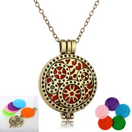 $enCountryForm.capitalKeyWord Australia - Free DHL Chic Women Locket Pendant Necklaces Clockwork Clock Gear with Branch Essential Oil Aromatherapy Diffuser Necklace Jewelry B417Q F