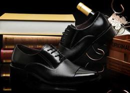 $enCountryForm.capitalKeyWord Canada - 2017 HOT Big US size 6 -15 man dress shoe Flat Shoes Luxury Men's Business Oxfords Casual Shoe Black   Brown Leather Derby Shoes EURO 3
