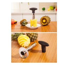 multi functional peeler NZ - Manufacturers selling multi-functional kitchen gadgets stainless steel pineapple pineapple sword to PiQi artifact peeler segmentation