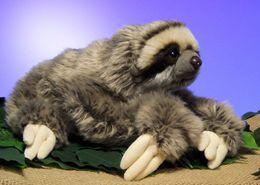 Sloth Toys NZ - New Cuddly Critters Three Toed Sloth Plush Toys 30Cm Soft Toy Teddy Kids Toys