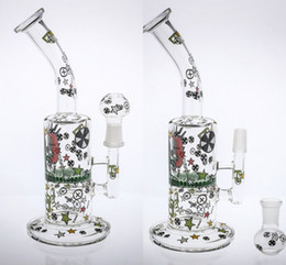 "11 arm perc bong NZ - In Stock Glass Bongs Water Pipes 11"" Tall 14.4mm Arm Honeycom Perc Percolator Turbine Perc Recycler Oil Rigs Glass Bong Smoking Pipes"