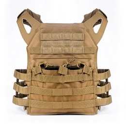 Chinese  Tactical Vest Hunting Ammo Chest Rig JPC Vest Gear Body Armor Multifunction Tactical Gear 4 Color Men CS Jackets Clothing manufacturers