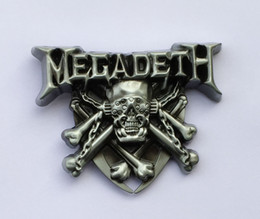 $enCountryForm.capitalKeyWord NZ - Megadeth Band Rock Music Belt Buckle SW-BY520 suitable for 4cm wideth snap on belt with continous stock