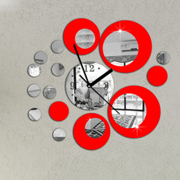 Circle Wall Decor 3d wall decor stickers circles online | 3d wall decor stickers