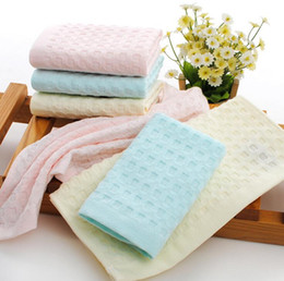 order towels NZ - Brand new Pure soft cotton absorbent towel soft skin does not lose hair towel towel TL010 mix order as your needs