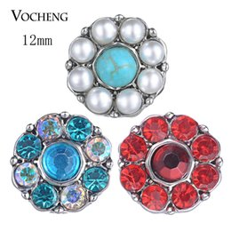 $enCountryForm.capitalKeyWord NZ - Vocheng Snap Jewelry Accessory Lovely Small Petite Ginger Snaps 12mm 5 Colors Snap Charms Noosa Chunks Vn-1824