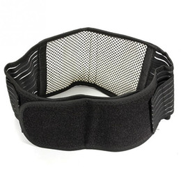 Lumbar Strap Canada - Wholesale- Infrared Magnetic Back Waist Support Lumbar Brace Belt Double Pull Strap Lower Pain