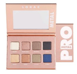$enCountryForm.capitalKeyWord Canada - Rose Gold Pro Metal Lorac Eyeshadow Palette Collection 8 Colors Sets Metallic Shades Eye Shadow Colors Name Brand