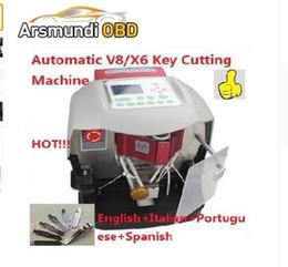 Good Kia Canada - 2017 new good 100% High quality Automatic V8 X6 Key Cutting Machine X6 Car Key Cutting Machine V8 Key Cutting Machine 3 year warranty