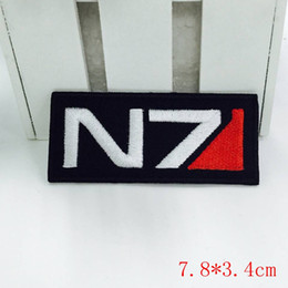 Parches De Efectos Baratos-Mass Effect Juego N7 Tactical Ops Logo Embroidered Patch NUEVO UNUSED low price
