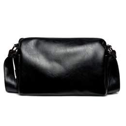 $enCountryForm.capitalKeyWord NZ - New Man PU Leather bag Men Messenger Business Men's Briefcase Designer Handbags High Quality Mini Shoulder Messenger sports Leisure Bags
