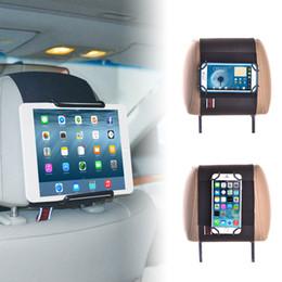Tabletler ve Cep Telefonları için TFY Universal Araç Kafalık Montaj Tutacağı - iPad iPad Mini Air - Samsung Tablet - iPhone