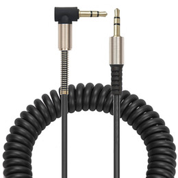 L shape cabLe online shopping - Stock Up To m mm Male to male Car Audio Aux Cable Cord L Shaped Right Angle Car Audio Headphone Jack Black