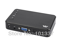 $enCountryForm.capitalKeyWord Australia - Wholesale- Jedx MP023 Full HD 1080P USB External HDD Media Player with Optical HDMI VGA AV output SD support USB host MKV H.264 RMVB WMV